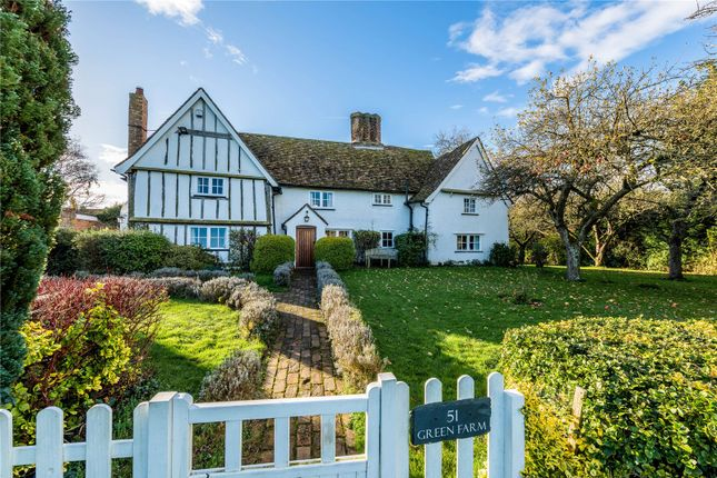 Thumbnail Detached house for sale in The Green, Eltisley, St Neots, Cambridgeshire