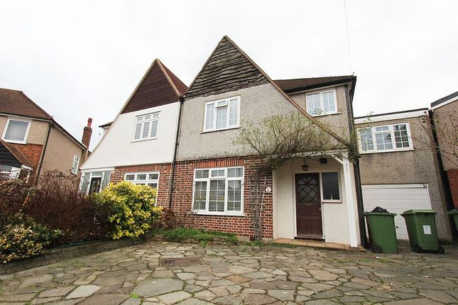 Thumbnail Semi-detached house for sale in Croyde Close, Sidcup, London