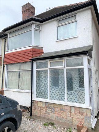 3 bed semi-detached house to rent in Spring Lane, Erdington, Birmingham B24