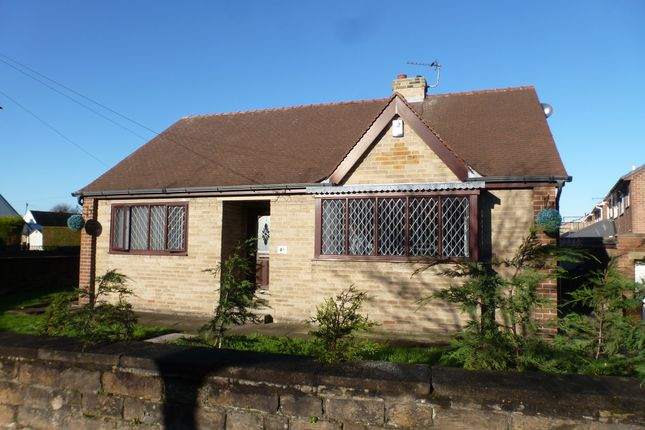 Thumbnail Detached bungalow to rent in High Street, Gawthorpe, Ossett, Wakefield