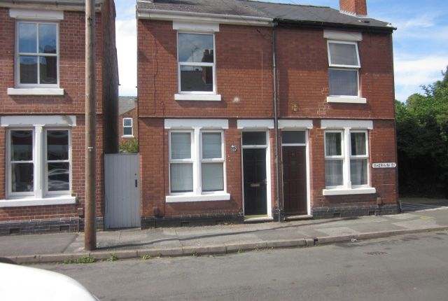 Thumbnail End terrace house to rent in Sherwin, Derby