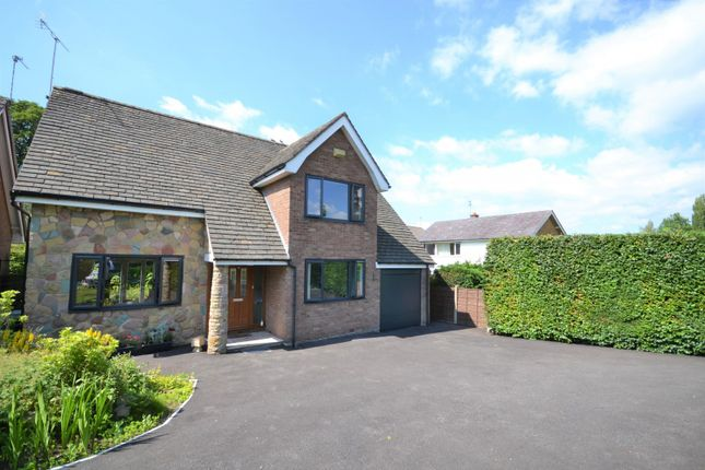 Thumbnail Detached house for sale in Kennedy Avenue, Macclesfield
