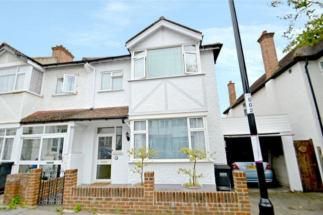 Thumbnail End terrace house for sale in Camborne Road, Addiscombe, Croydon