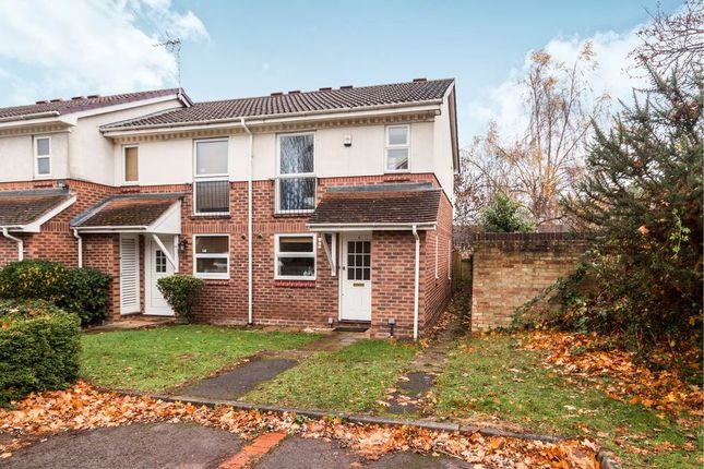 Thumbnail End terrace house to rent in Hombrook Drive, Amen Corner