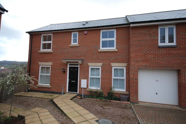 Thumbnail 3 bed semi-detached house to rent in Sampson Close, Sidmouth
