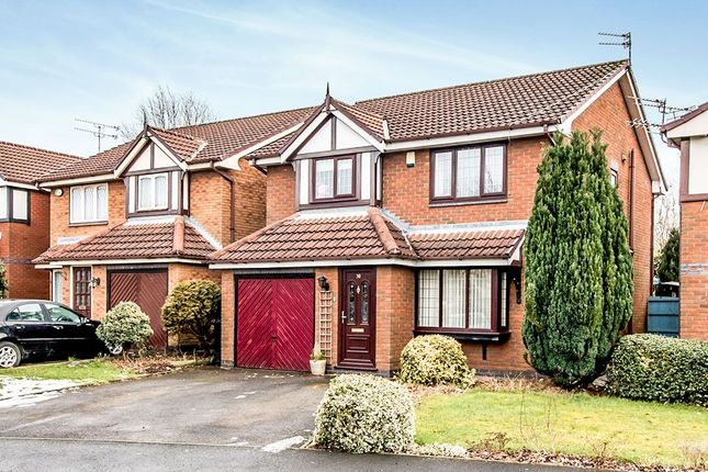 Thumbnail Detached house for sale in Tytherington Drive, Manchester
