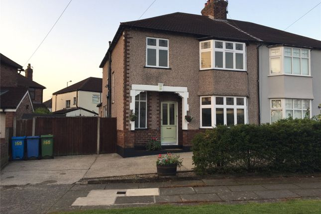 Thumbnail Semi-detached house for sale in Alder Road, Liverpool