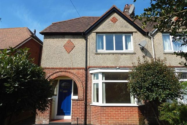Thumbnail Semi-detached house to rent in Tollgate Road, Salisbury, Wiltshire