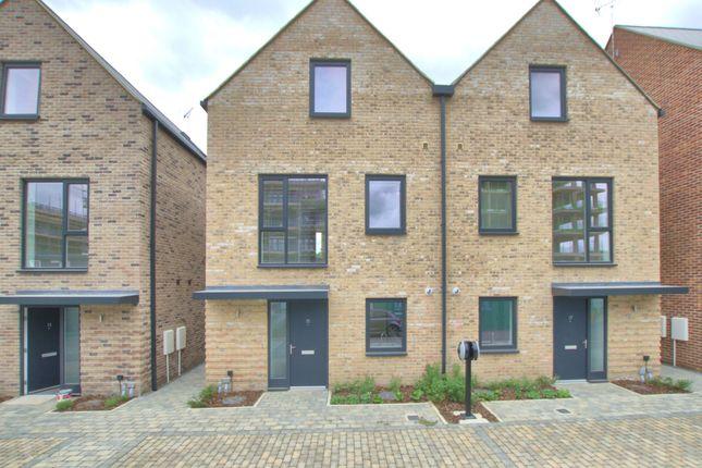 Thumbnail Semi-detached house to rent in Clara Rackham Street, Cambridge