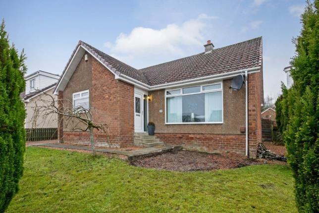 Thumbnail Bungalow for sale in Hillfoot Crescent, Wishaw, North Lanarkshire, United Kingdom
