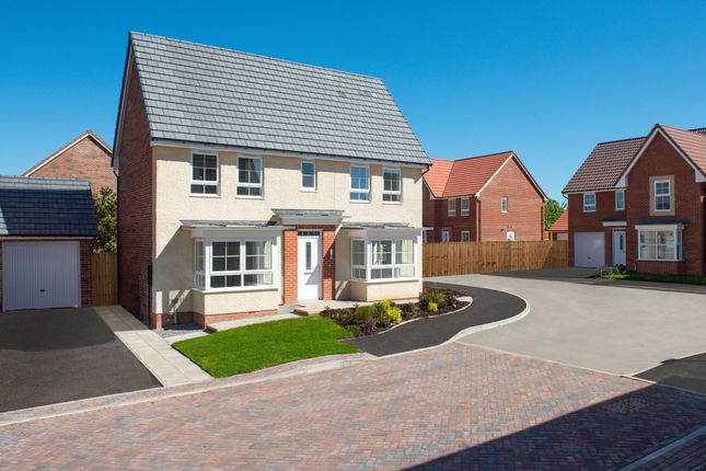 "Thumbnail Detached house for sale in ""Alnwick"" at Ripon Road, Kirby Hill, Boroughbridge, York"