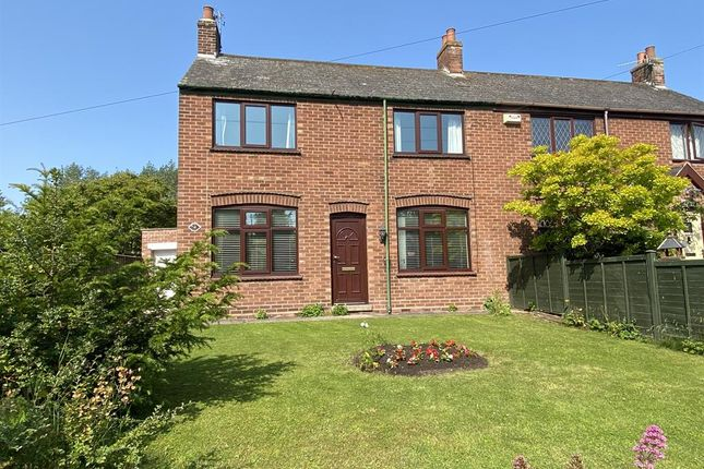 Thumbnail Semi-detached house for sale in Church Lane, North Thoresby, Grimsby