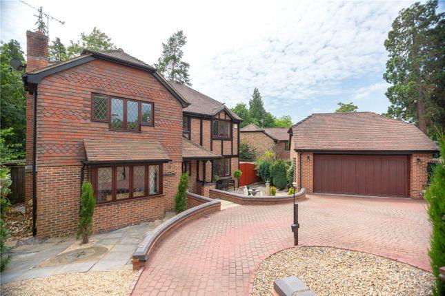 Thumbnail Detached house for sale in Oakdene, Sunningdale, Berkshire
