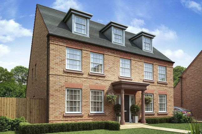 "Thumbnail Detached house for sale in ""Balshaw"" at Adlington Road, Wilmslow"