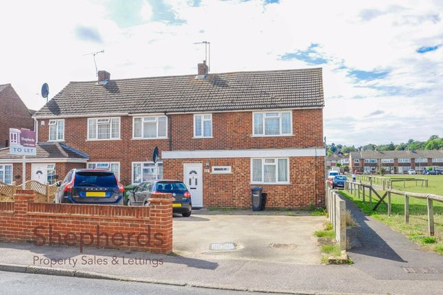 Thumbnail Semi-detached house to rent in Tregelles Road, Hoddesdon, Hertfordshire