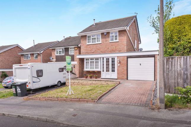 Thumbnail Link-detached house for sale in Pennine Close, Arnold, Nottingham