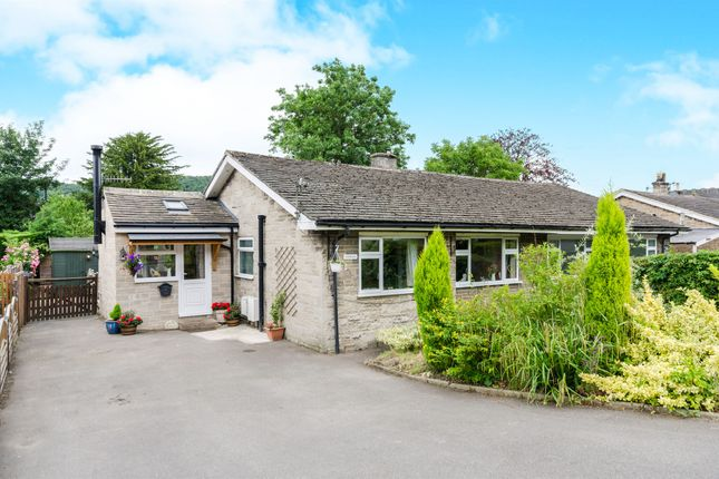 Thumbnail Semi-detached bungalow for sale in Wyedale View, Bakewell