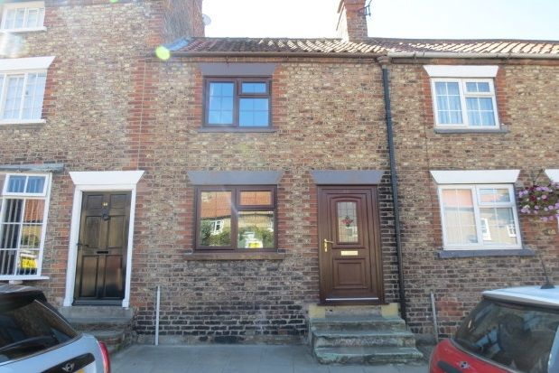 Thumbnail Terraced house to rent in Commercial Street, Norton, Malton