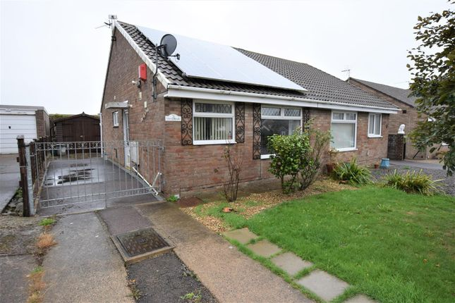 Thumbnail Semi-detached bungalow for sale in Smeaton Close, Rhoose, Barry