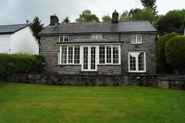 Thumbnail Detached house to rent in Aberangell, Machynlleth