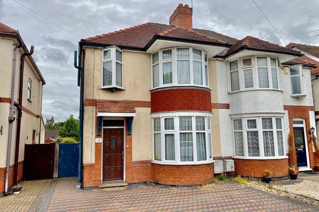 3 bed semi-detached house for sale in Carisbrook Road, Weddington, Nuneaton CV10