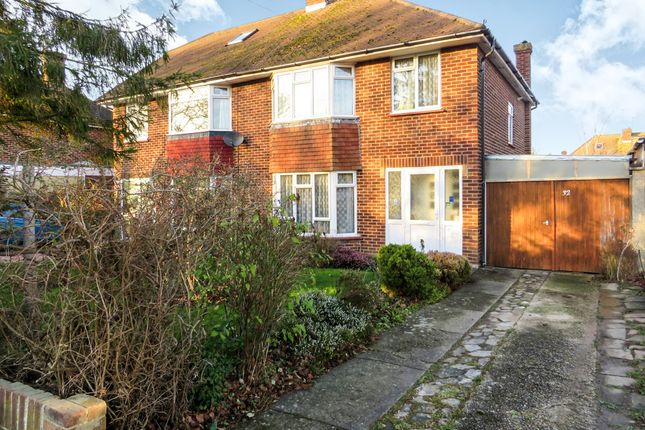 Thumbnail Semi-detached house for sale in The Strand, Goring-By-Sea, Worthing