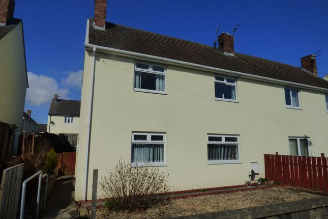 Thumbnail Semi-detached house to rent in Morpeth Avenue, Pegswood, Morpeth