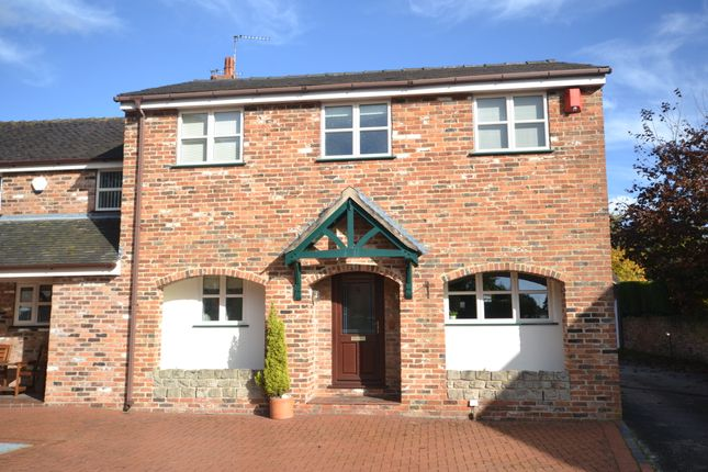 Thumbnail End terrace house for sale in Beaumont Court, The Bridle Path, Newcastle-Under-Lyme