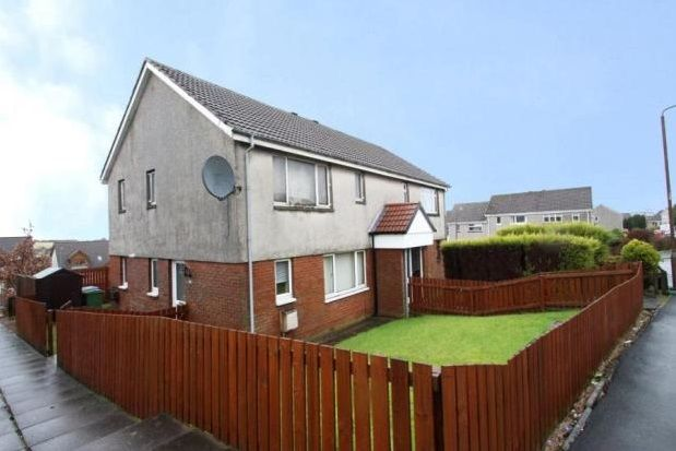 Thumbnail Flat to rent in Easton Drive, Shieldhill, Falkirk