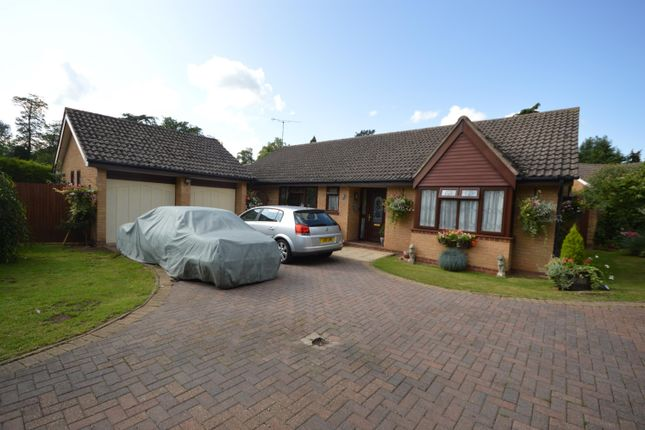 Thumbnail Bungalow for sale in Canons Close, Narborough, Leicester