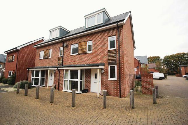 Thumbnail Semi-detached house for sale in Brunswick Place, Totton, Southampton