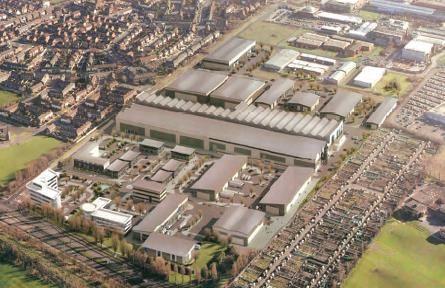 Thumbnail Industrial to let in Design & Build, Atlantic Park, Dunningsbridge Road, Liverpool, Merseyside