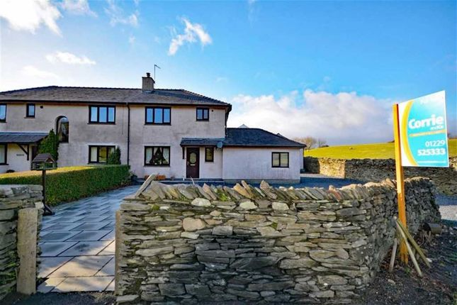 Thumbnail Semi-detached house for sale in Sandside, Kirkby In Furness, Cumbria
