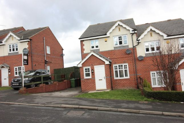 Thumbnail Semi-detached house to rent in Borrowdale Crescent, Leeds
