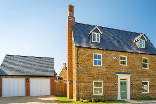 Thumbnail Detached house for sale in The Woburn, Meadow View, Banbury Homes, Adderbury