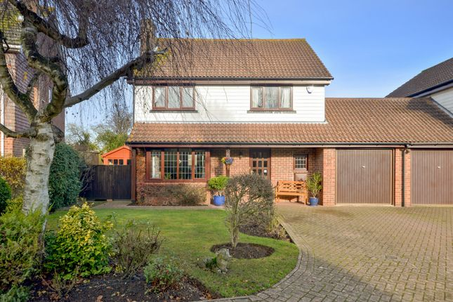 Thumbnail Detached house for sale in Mountbatten Way, Brabourne Lees