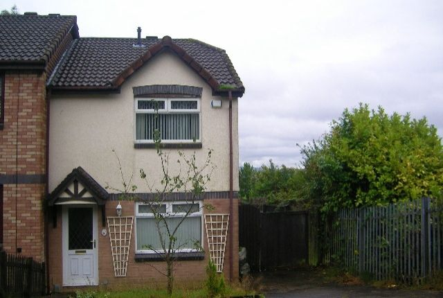Thumbnail End terrace house to rent in Cwrt Llwynog, Parc Gwernfadog