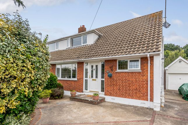 Thumbnail Semi-detached house for sale in Sayers, Thundersley, Benfleet