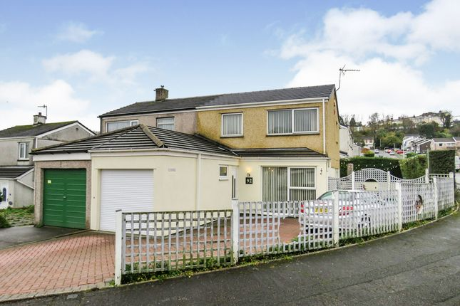 Thumbnail Semi-detached house for sale in Beaumaris Road, Plymouth