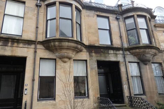 Thumbnail Flat to rent in Grosvenor Crescent, Glasgow
