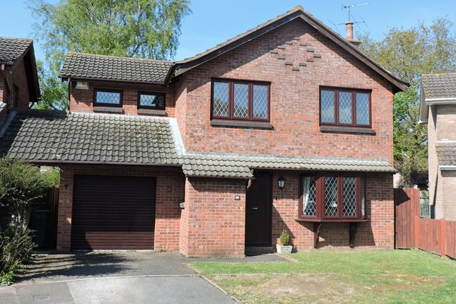 Thumbnail Detached house for sale in Fryers Road, Three Legged Cross, Wimborne