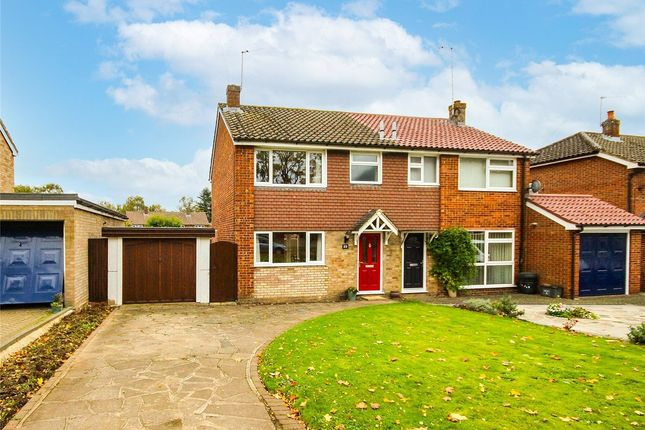 Thumbnail Semi-detached house for sale in Wheatlock Mead, Redbourn, St. Albans, Hertfordshire