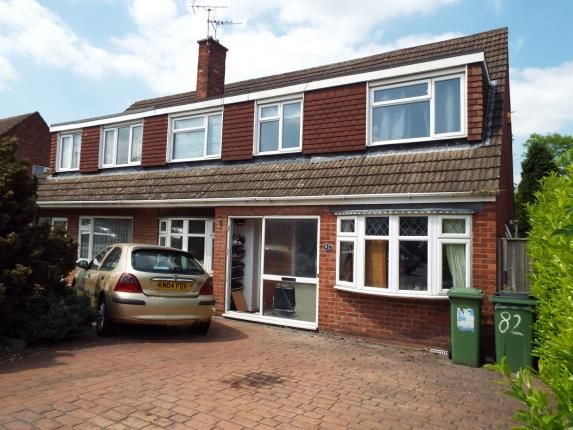 Thumbnail Semi-detached house for sale in Packer Avenue, Leicester Forest East, Leicester, Leicestershire