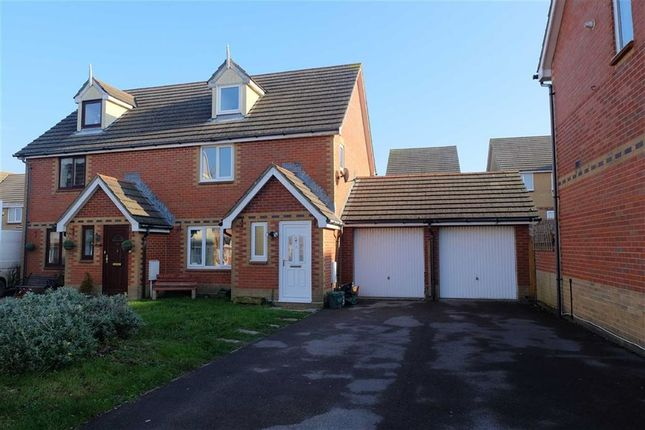 Thumbnail Semi-detached house for sale in Gwennol Y Mor, Barry, Vale Of Glamorgan