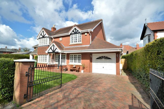 Thumbnail Detached house for sale in York Road, Grappenhall, Warrington