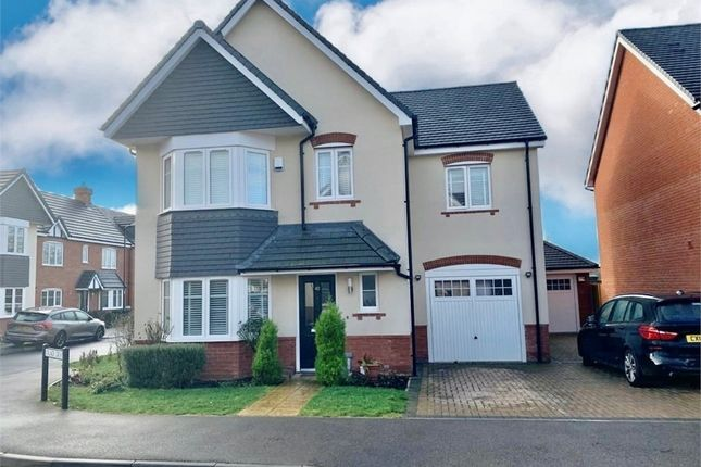 Thumbnail Detached house to rent in Oxlade Drive, Langley, Berkshire