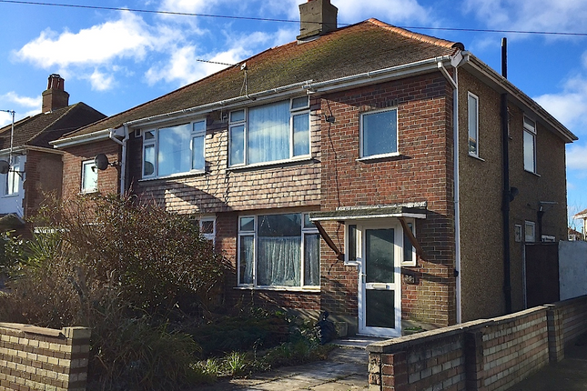 Thumbnail Semi-detached house to rent in Saxonbury Road, Bournemouth