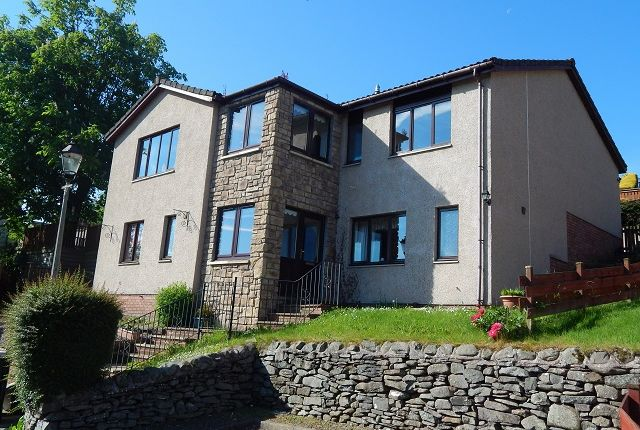 Thumbnail Detached house for sale in Woodside Drive, Galashiels