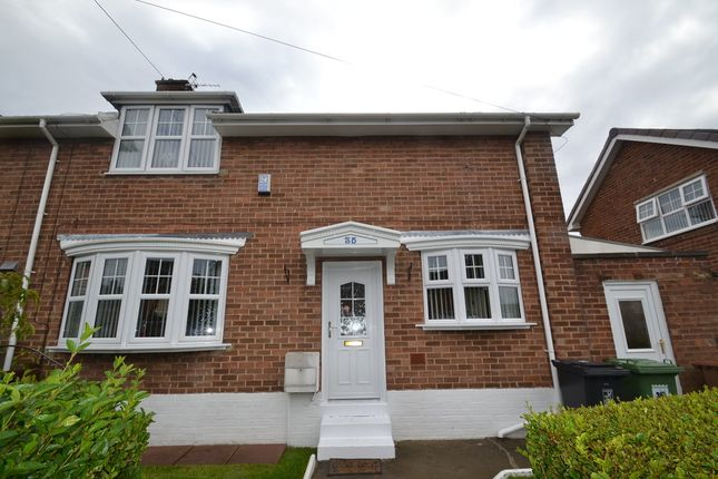 Thumbnail End terrace house for sale in Jameson Road, Hartlepool
