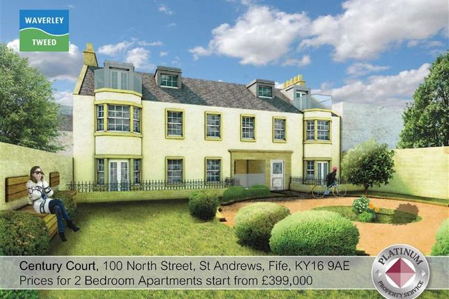 Thumbnail Flat for sale in Century Court, 100, North Street, St Andrews, Fife